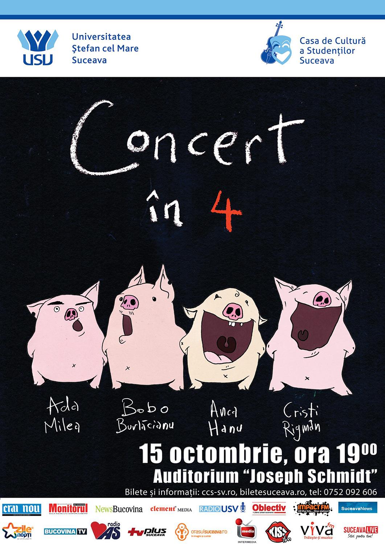 Concert în 4