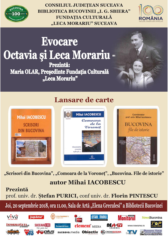 Evocare Octavia și Leca Morariu