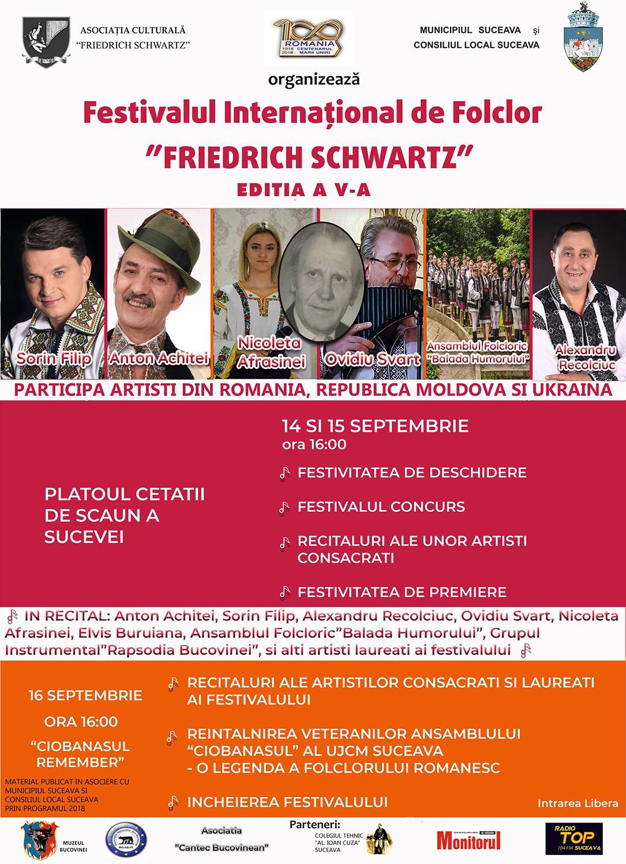 Festivalul Internațional de Folclor Friedrich Schwartz (2018)