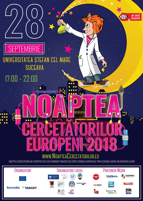 Noaptea Cercetătorilor Europeni (2018)