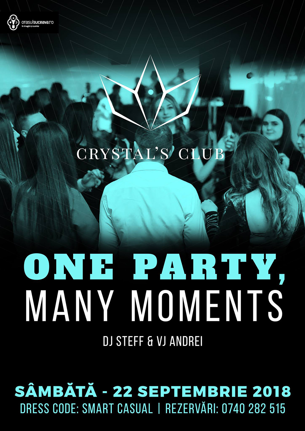One party, many moments