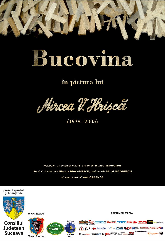 Bucovina în pictura lui Mircea V. Hrișcă