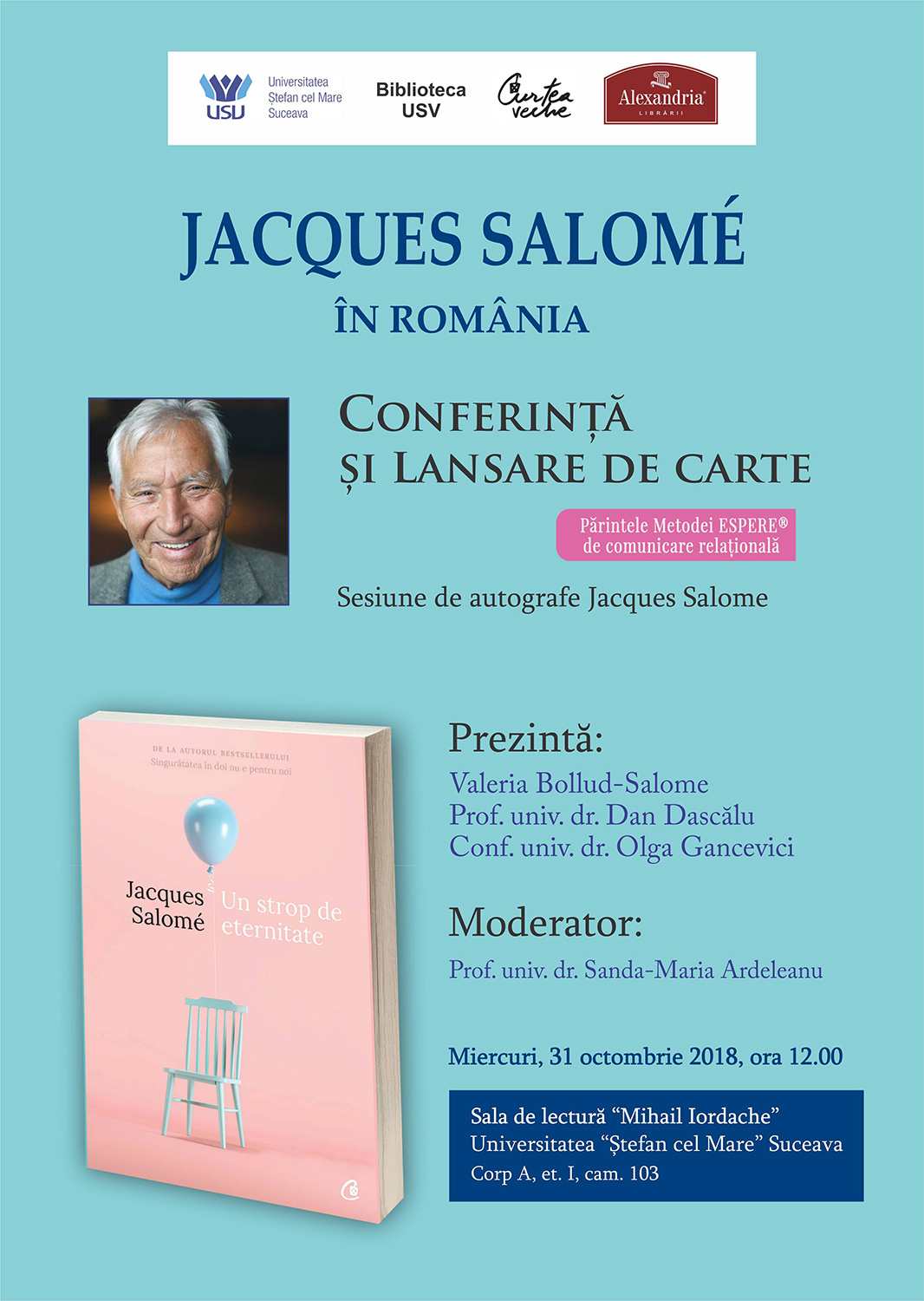 Jacques Salome – Un strop de eternitate