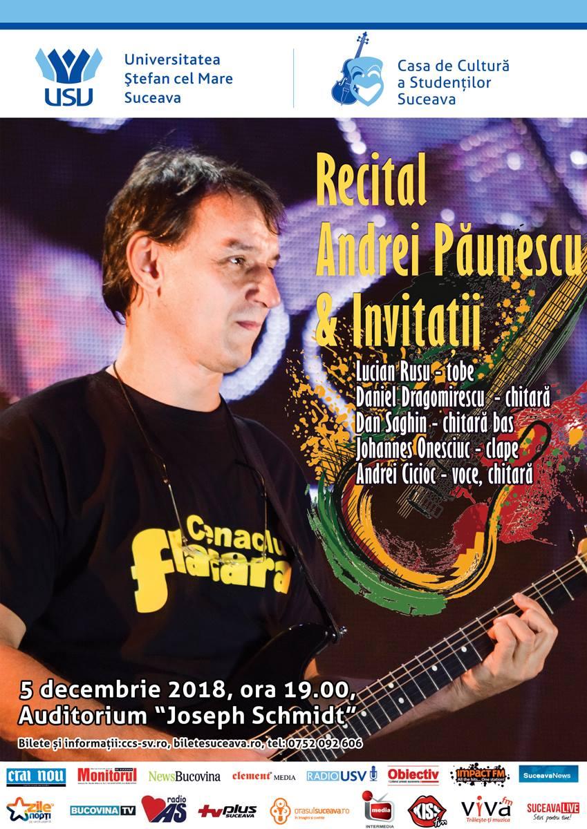 Andrei Păunescu și invitații