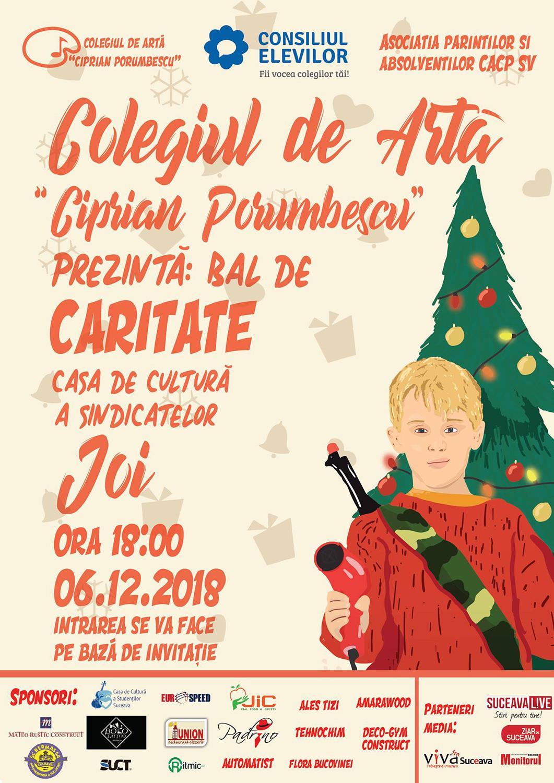 Bal de caritate - Colegiul de Artă Ciprian Porumbescu (Suceava)