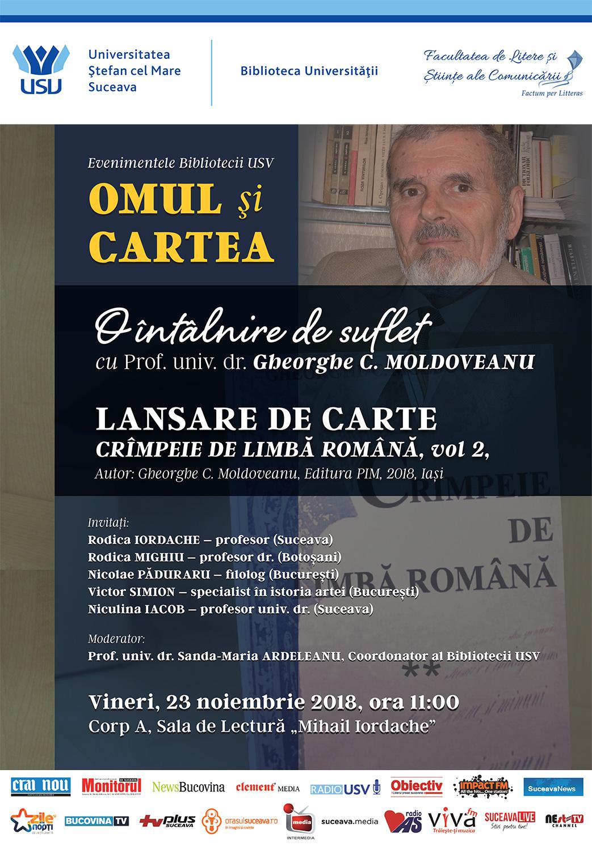 Gheorghe C. Moldoveanu – Crîmpeie de limbă română (volumul doi)