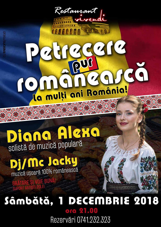 Petrecere pur românească