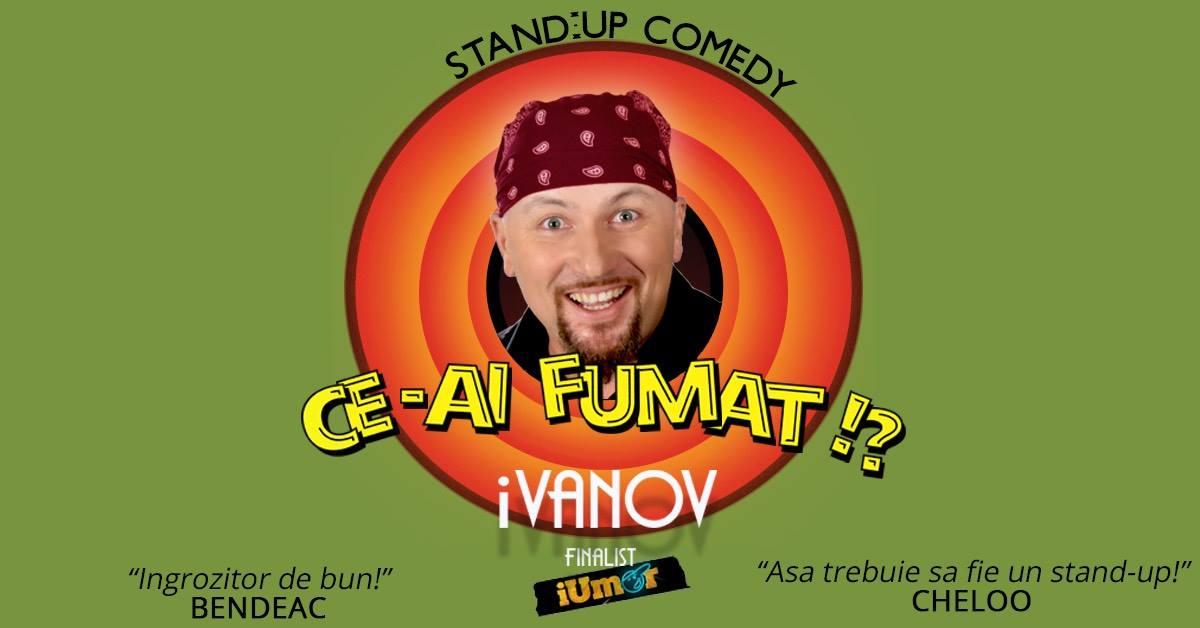 Stand-up comedy cu Doru Ivanov și Viorel Huțupașu