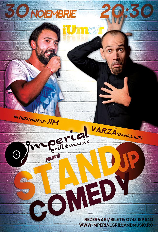 Stand-up comedy cu JIM și Varză