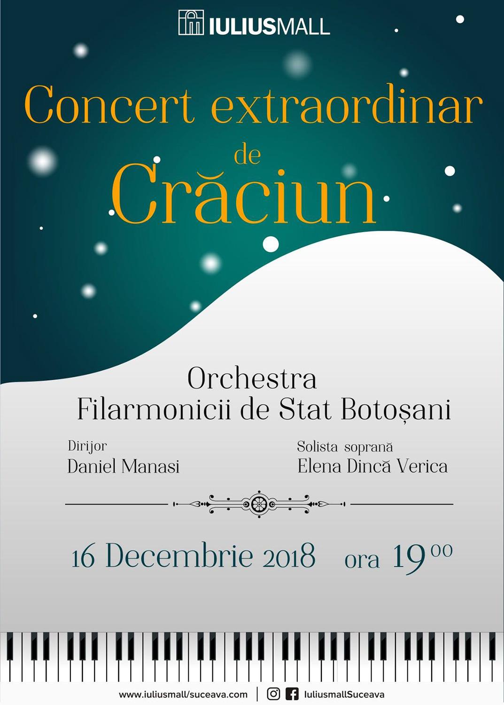 Concert extraordinar de Crăciun
