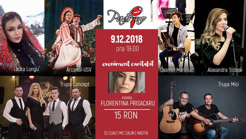 Eveniment caritabil pentru Florentina Prisăcaru