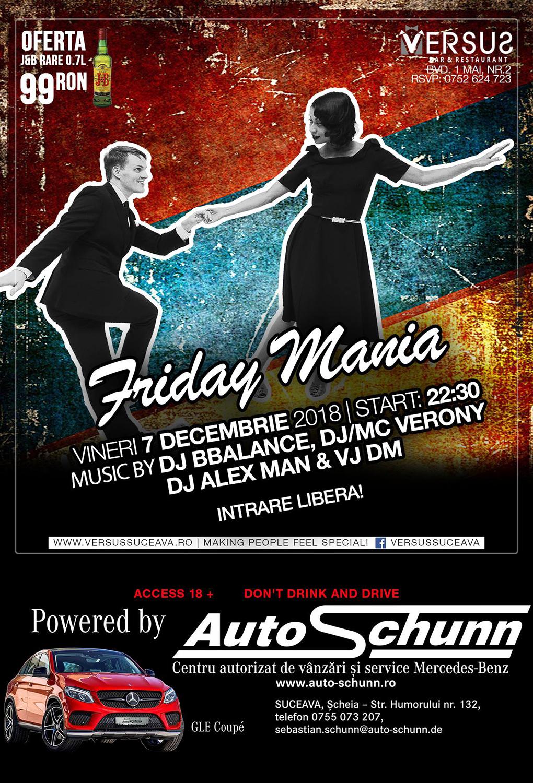 Friday Mania