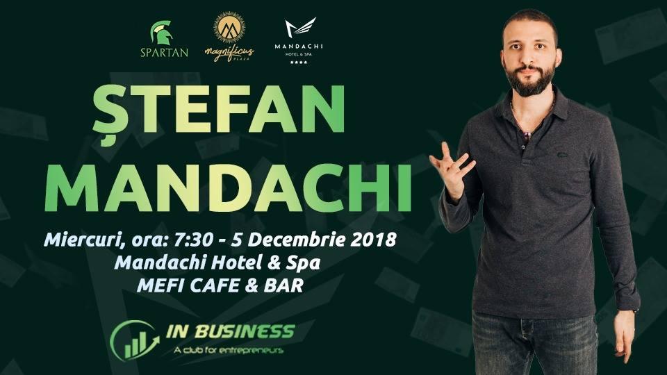 Întâlnire cu Ștefan Mandachi