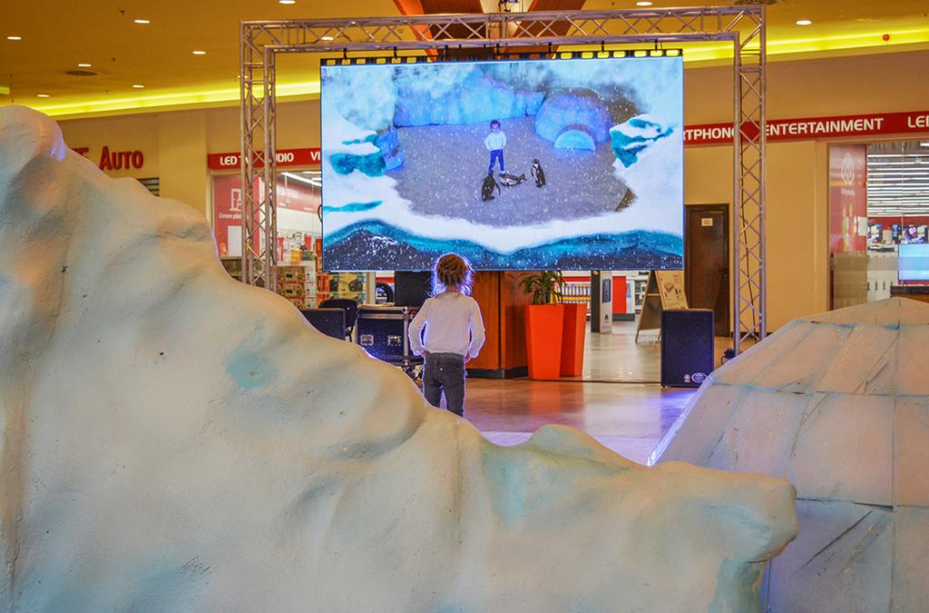 La Iulius Mall Suceava poți călători pe un ghețar, prin intermediul realității augmentate