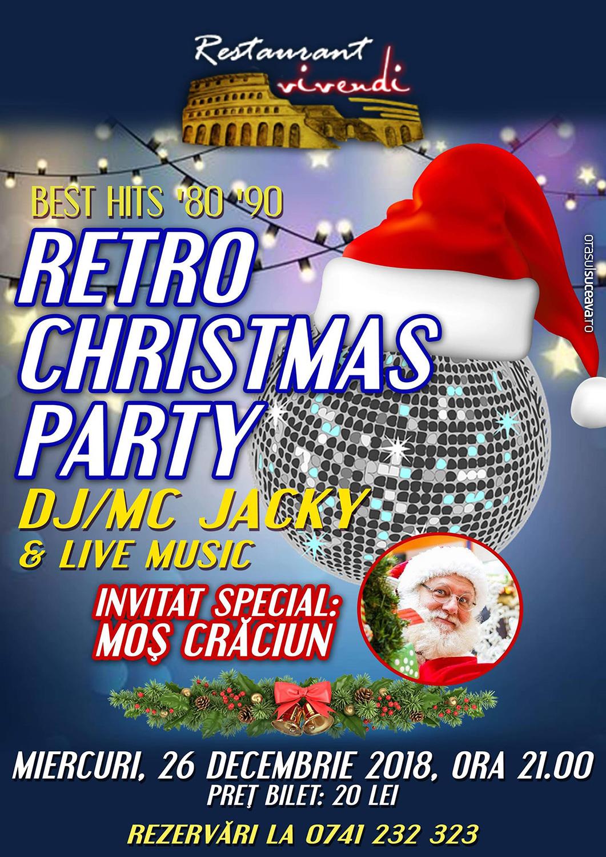 Retro Christmas Party
