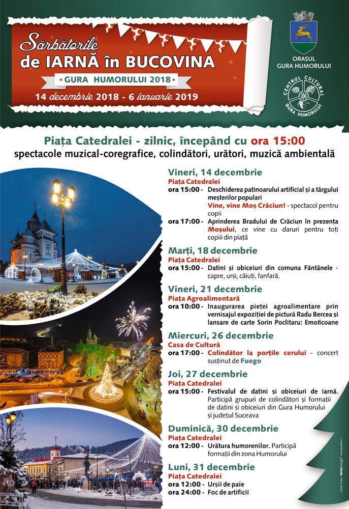 Sărbătorile de iarnă în Bucovina