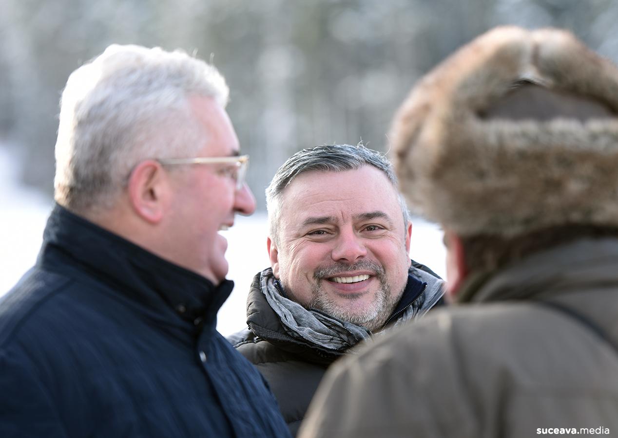 Inaugurarea Pârtiei Rarău din Câmpulung Moldovenesc (fotoreportaj)