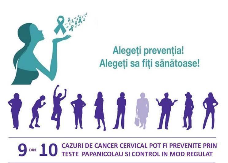 Oprește cancerul de col uterin