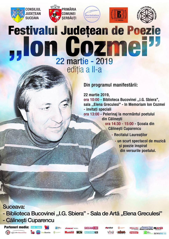 Festivalul Județean de Poezie Ion Cozmei