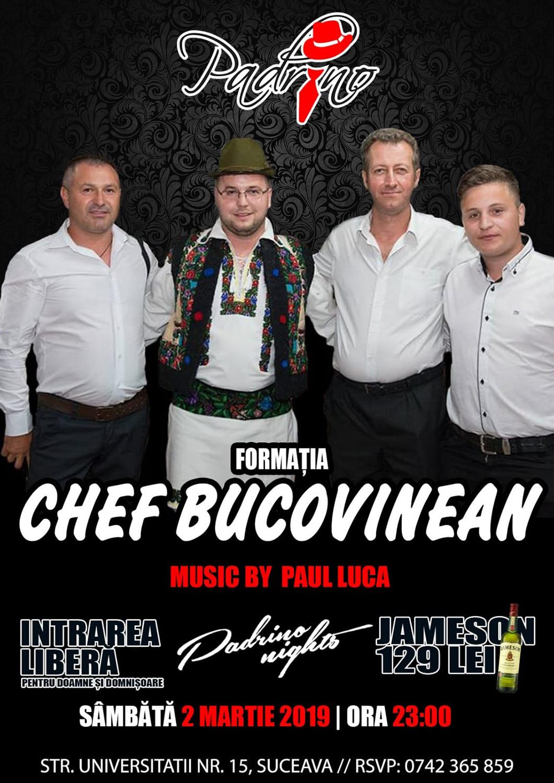 Formația Chef Bucovinean și Paul Luca