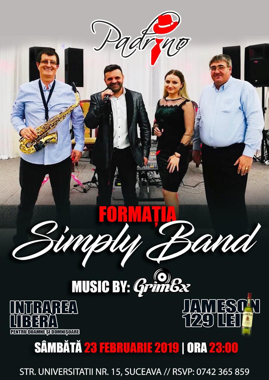 Formația Simply Band și Grim Ex