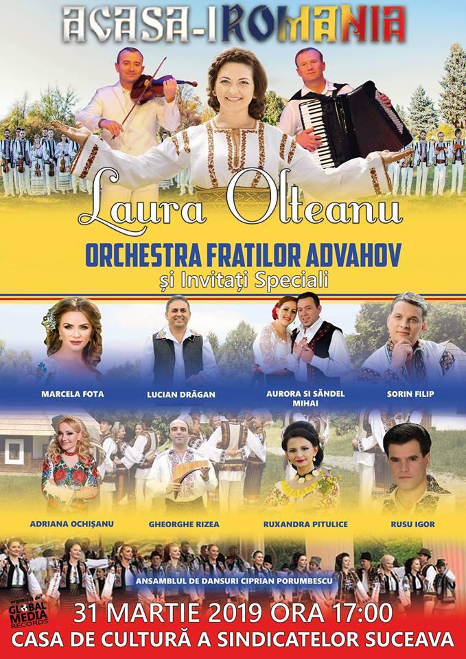 Laura Olteanu și Orchestra Fraților Advahov