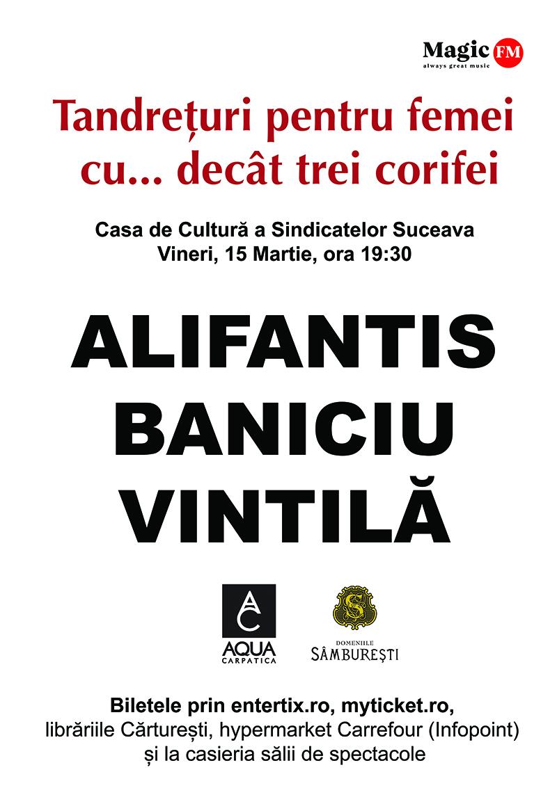 Nicu Alifantis, Mircea Baniciu și Mircea Vintilă