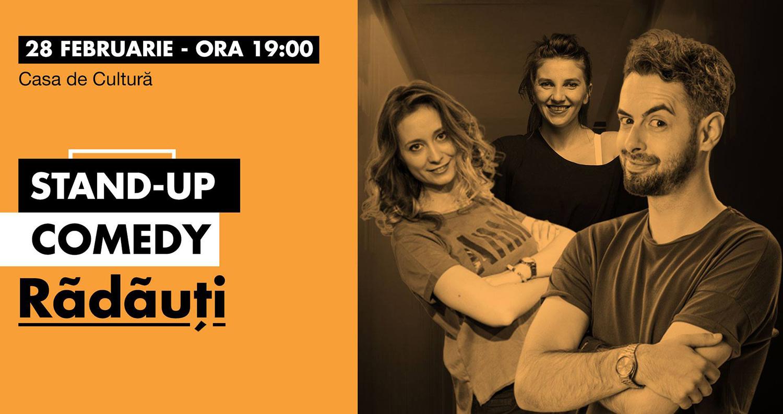 Stand-up comedy cu Radu Bucălae, Ana Maria Calița, Teodora Nedelcu și Geo