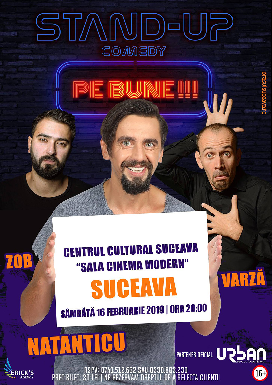 Stand-up comedy cu Zob, Natanticu și Varză
