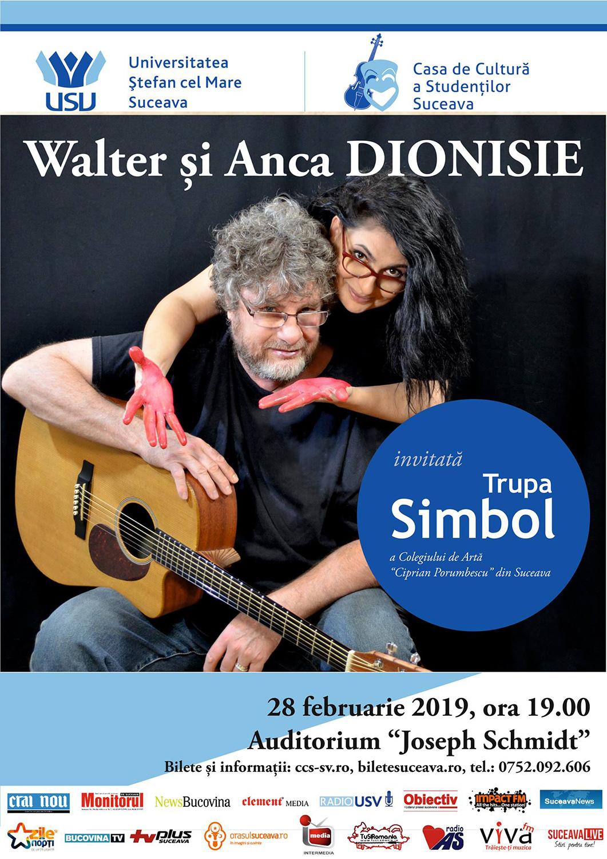 Walter Dionisie și Anca Dionisie