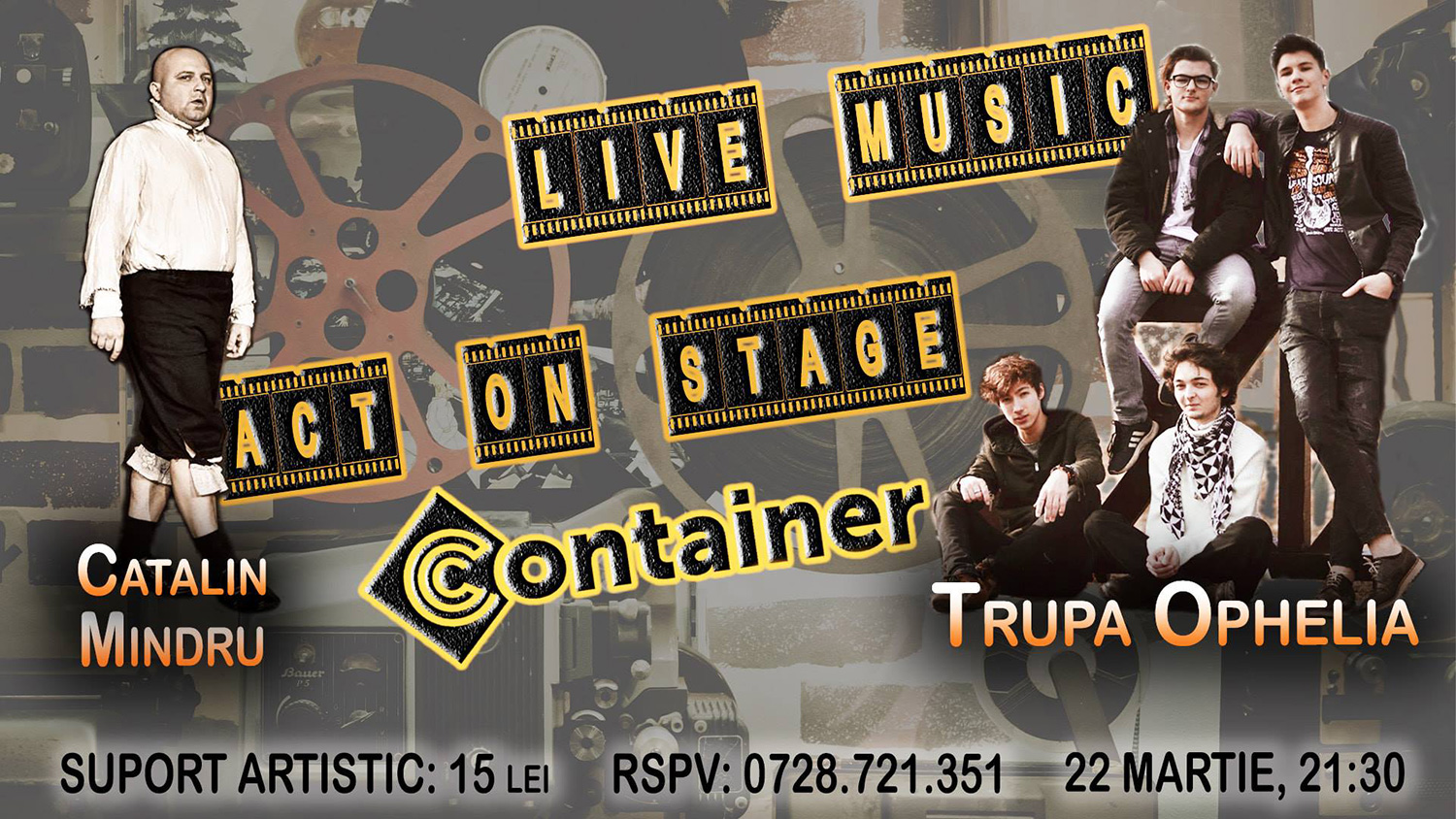 Act On Stage & Live Music