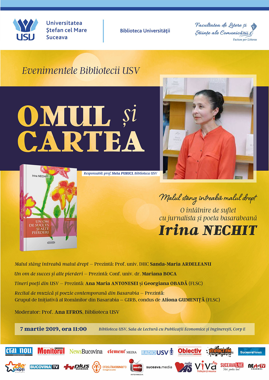 Omul și cartea – Irina Nechit