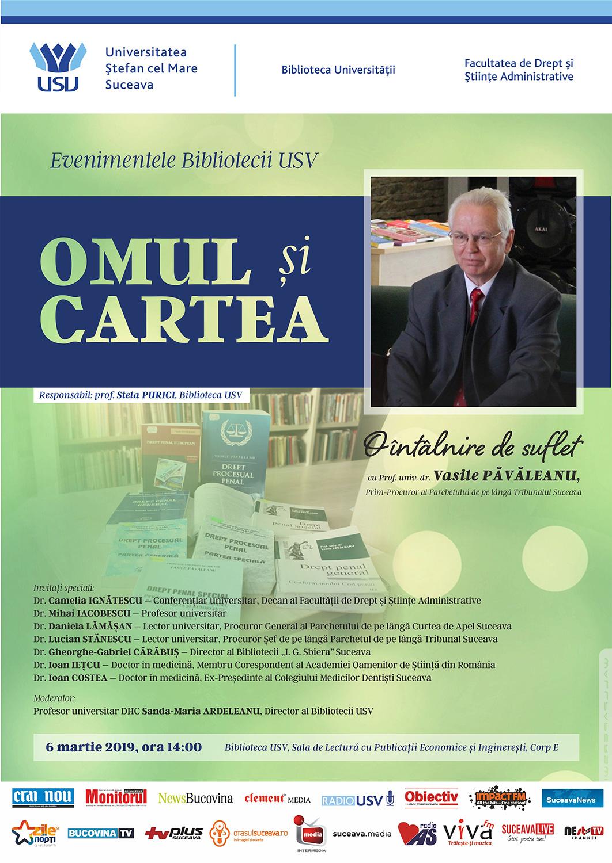 Omul și cartea – Vasile Păvăleanu