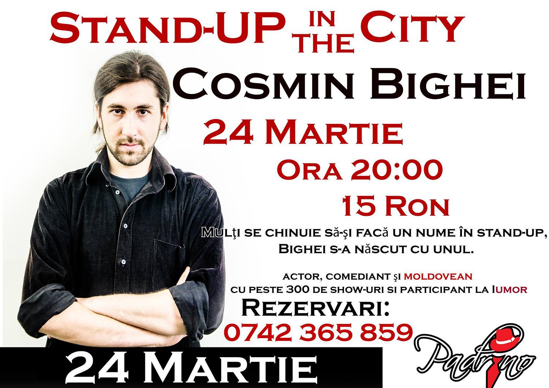 Stand-up comedy cu Cosmin Bighei