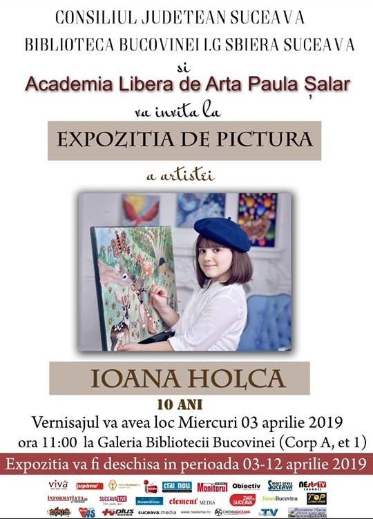 Ioana Holca – expoziție de pictură
