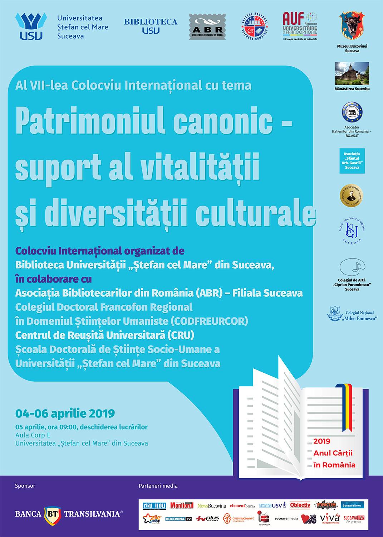 Patrimoniul canonic – suport al vitalității și diversității culturale