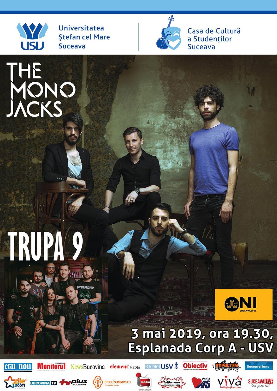 The Mono Jacks și Trupa 9