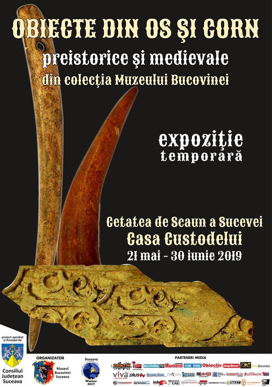 Obiecte din os și corn, preistorice și medievale