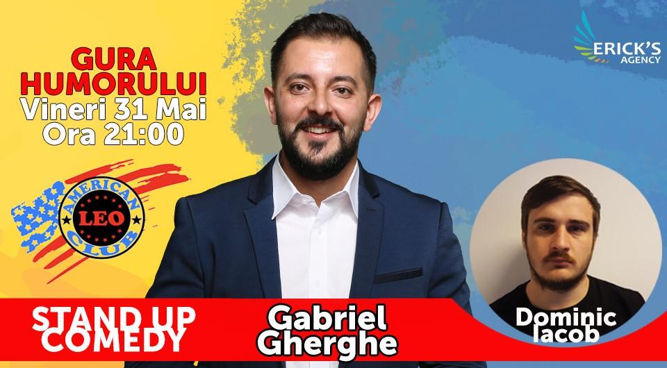 Stand-up comedy cu Gabriel Gheorghe și Dominic Iacob