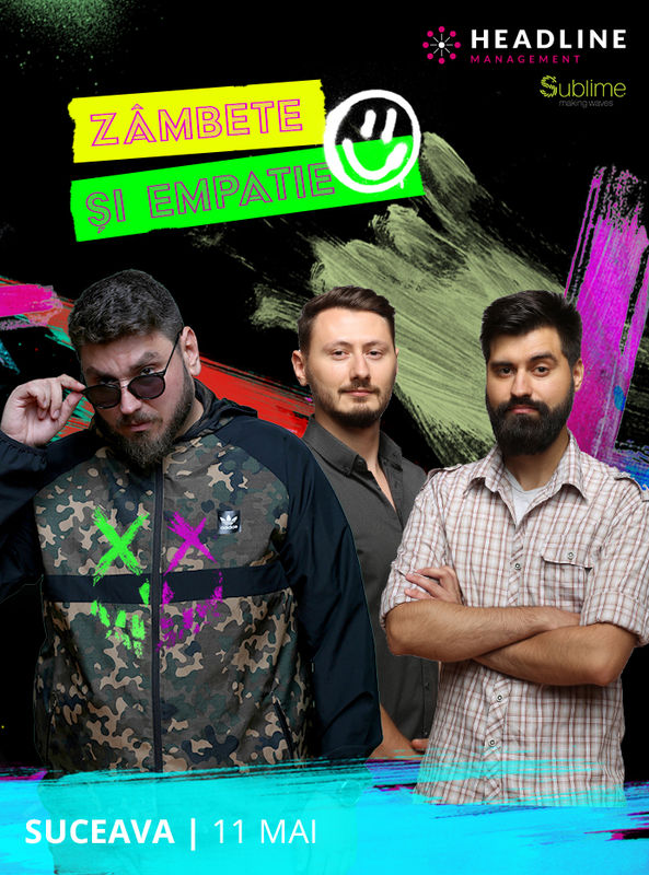 Stand-up comedy cu Micutzu, Claudiu și Geo