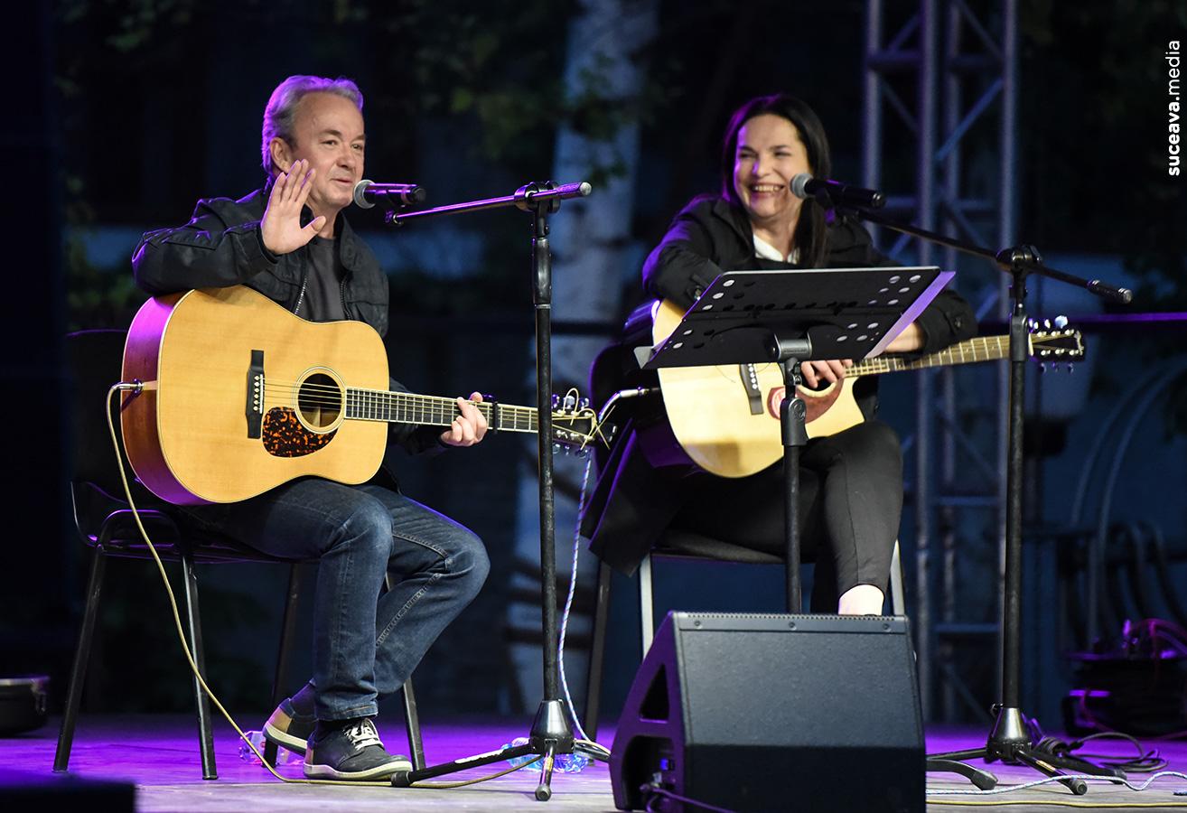 Dinu Olărașu și Mihaela Popescu (fotoreportaj)