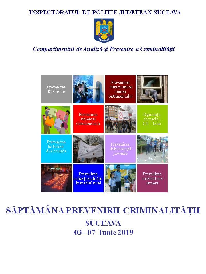 Săptămâna Prevenirii Criminalității