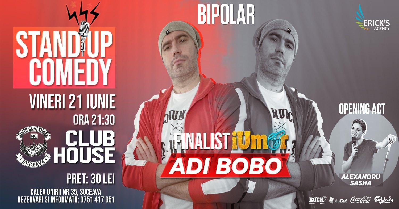 Stand-up comedy cu Adi Bobo și Alexandru Sasha