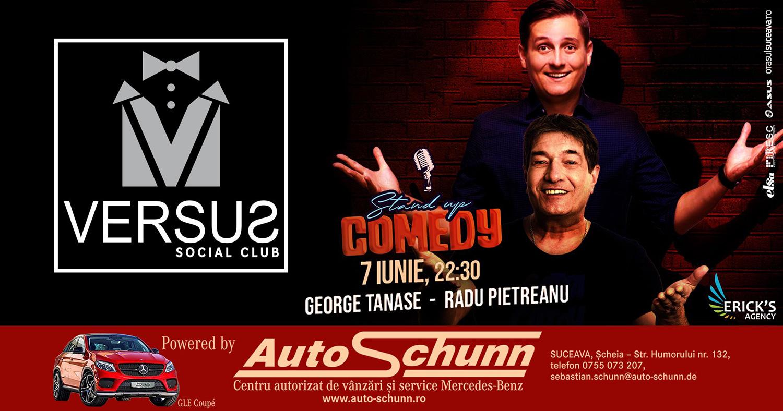 Stand-up comedy cu Radu Pietreanu și George Tănase