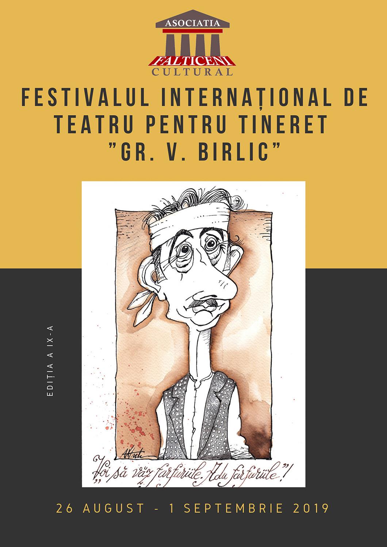 Festivalul Internațional de Teatru pentru Tineret Grigore Vasiliu Birlic (2019)