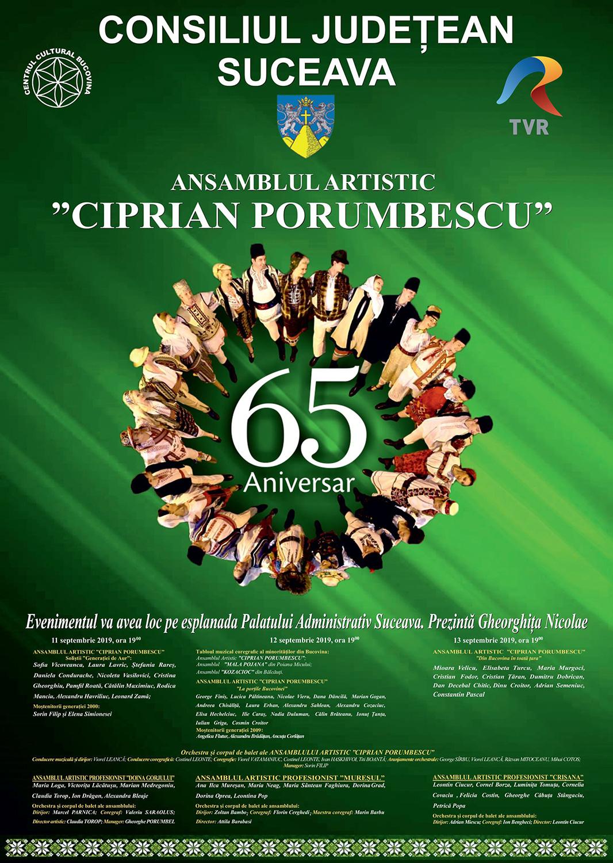 Ansamblul Artistic Ciprian Porumbescu – 65