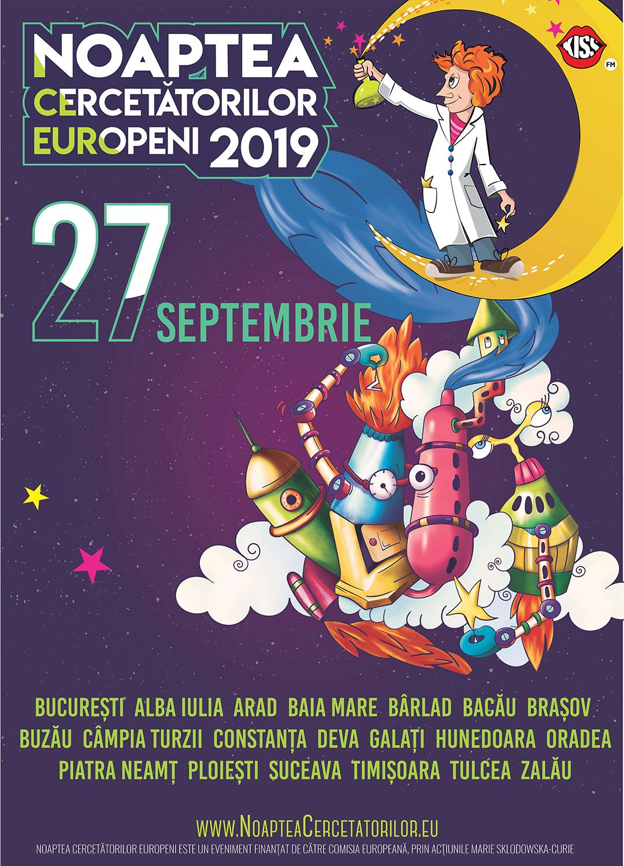 Noaptea Cercetătorilor Europeni (2019)