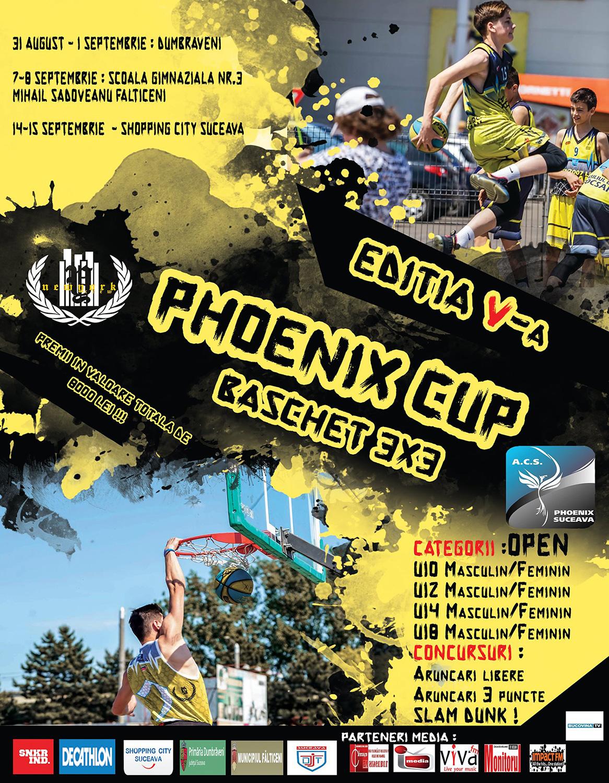 Phoenix Cup – Baschet 3×3