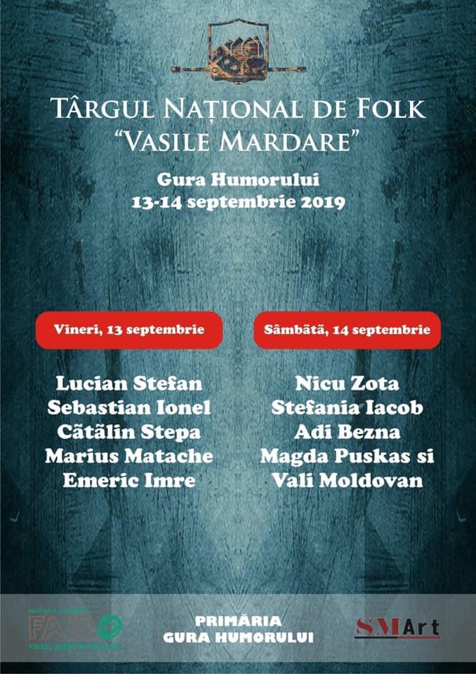 Târgul de Folk Vasile Mardare (2019)