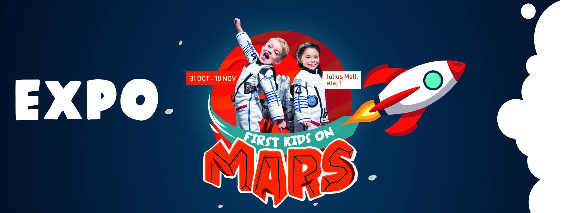 First Kids on Mars